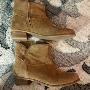 Sketchers Suede Ankle Boots Booties